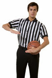 De ambtenaar van het basketbal stock foto's