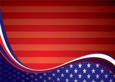 De Amerikaanse achtergrond van de V.S. royalty-vrije illustratie