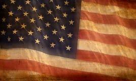 De Amerikaanse Achtergrond van de Vlag Stock Foto