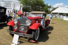 de Amerikaanse auto van de jaren '30luxe Stock Afbeeldingen