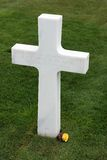 De Amerikaanse Begraafplaats van Normandië bij het Strand van Omaha, Frankrijk. Stock Foto