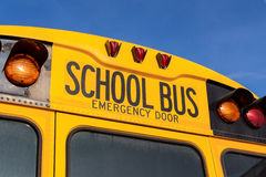 De Amerikaanse Bus van de School Royalty-vrije Stock Foto's
