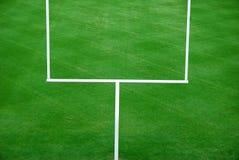 De Amerikaanse doelpaal van de Voetbal Royalty-vrije Stock Afbeeldingen