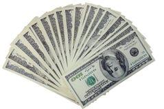 De Amerikaanse dollars Royalty-vrije Stock Foto's