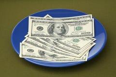 De Amerikaanse dollars stock afbeelding