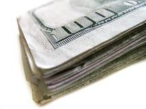 De Amerikaanse Dollars die van het contant geldgeld Rijkdomrijkdom en Inves vertegenwoordigen royalty-vrije stock foto's