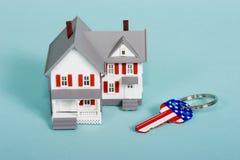 De Amerikaanse droom Stock Foto's