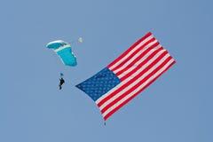 De Amerikaanse Heldenlucht toont - L.A. 2013 Stock Foto's