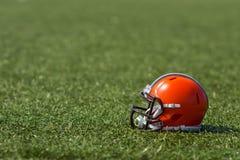 De Amerikaanse Helm van de Voetbal Stock Foto