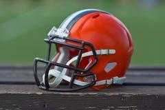 De Amerikaanse Helm van de Voetbal Stock Afbeeldingen