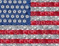De Amerikaanse industrie royalty-vrije illustratie