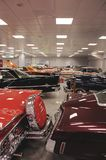 De Amerikaanse inzameling van de schrijvers uit de klassieke oudheidauto Royalty-vrije Stock Foto
