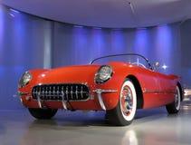 De Amerikaanse Klassieke Auto van Thunderbird van de Doorwaadbare plaats Royalty-vrije Stock Afbeelding