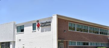 De Amerikaanse Rood Kruisbouw, Memphis, TN royalty-vrije stock fotografie