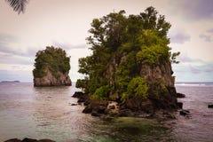 De Amerikaanse Samoa foto's van Pagopago Royalty-vrije Stock Afbeeldingen