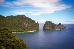 De Amerikaanse Samoa foto's van Pagopago Stock Foto's