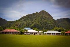 De Amerikaanse Samoa foto's van Pagopago Stock Fotografie