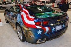 De Amerikaanse Trots van Camaro SS van Chevrolet Royalty-vrije Stock Fotografie