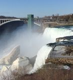 De Amerikaanse Val van Niagara stock afbeelding