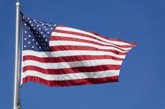 De Amerikaanse Vlag van de V.S. stock fotografie