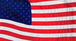 De Amerikaanse Vlag van Verenigde Staten of Stock Afbeeldingen
