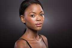 De Amerikaanse Vrouw van Afro Stock Afbeeldingen