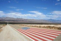De Amerikaanse weg Stock Afbeelding