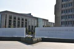 De amerikanska veterorna inaktiverade för livminnesmärke i Washington, DC Royaltyfri Fotografi