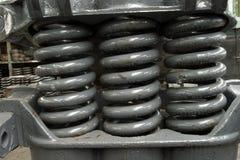 De amortisatiemechanisme van de lente van chassis Royalty-vrije Stock Foto