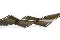 De analoge geïsoleerde camera van het filmbroodje royalty-vrije stock afbeelding