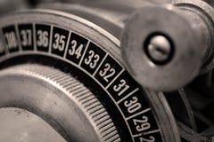 De analoge Snijmachine van de Film Stock Afbeelding
