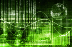 De Analyse van de Gegevens van statistieken Stock Foto's