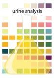 De analyse van de urine Royalty-vrije Stock Afbeeldingen