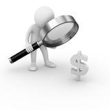 De analyse van de waarde Stock Afbeeldingen