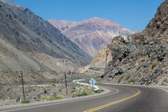 De Andes Argentinië Royalty-vrije Stock Foto