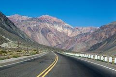 De Andes Argentinië Royalty-vrije Stock Afbeeldingen