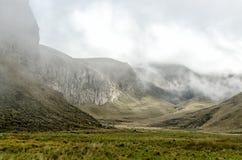 De Andes in Ecuador Royalty-vrije Stock Foto's