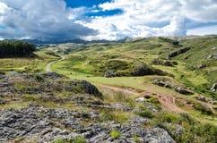 De Andes in Peru Stock Foto's