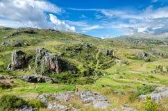 De Andes in Peru Stock Foto