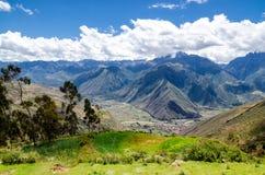 De Andes in Peru Royalty-vrije Stock Afbeeldingen