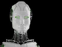 De androïde vrouwen van de robot royalty-vrije illustratie