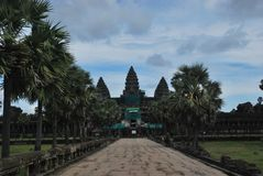 De Angkormanier, Siem oogst, Kambodja Stock Foto