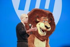 De Animatie CEO Jeffrey Katzenberg van DreamWorks royalty-vrije stock afbeeldingen