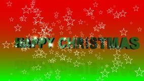 De Animatie van de Kerstmistekst vector illustratie