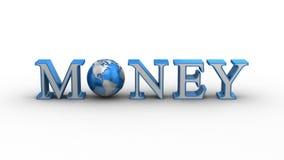 De Animatie van het wereldgeld royalty-vrije illustratie