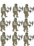 De Animatie van Orgre stock illustratie