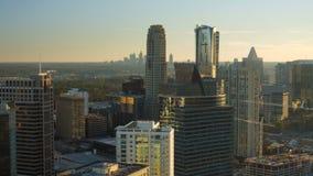 De Antenne van Atlanta stock footage