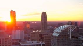 De Antenne van Atlanta stock videobeelden