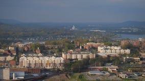 De Antenne van Chattanooga stock videobeelden
