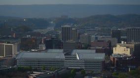 De Antenne van Chattanooga stock video